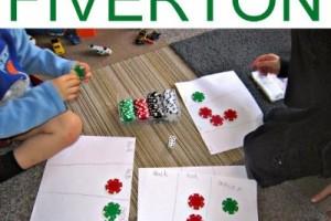 Easy Math Game: Fiverton