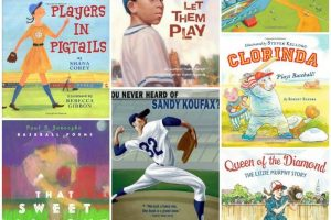 Best Children's Picture Books about Baseball