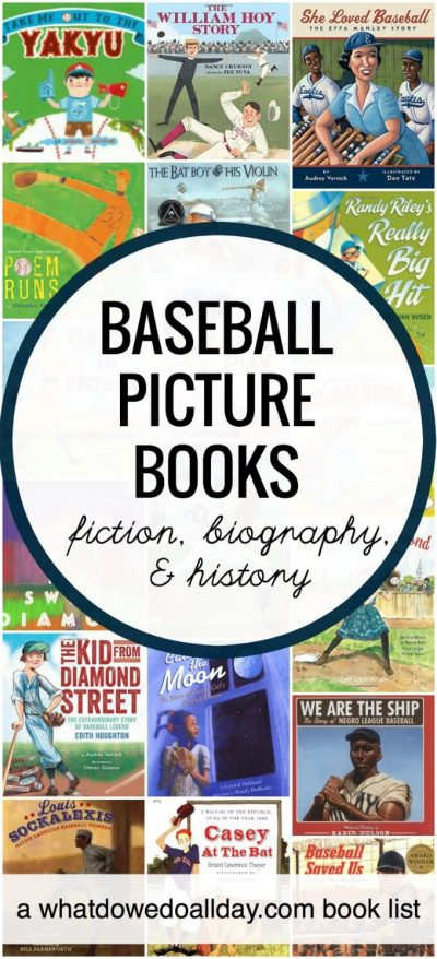 Fiction baseball books for kids