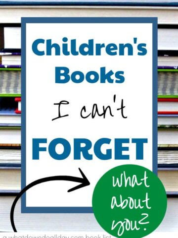 List of chapter books for kids that I can't forget, even 30 years later.