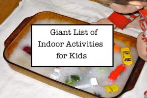 Indoor Activities for Kids