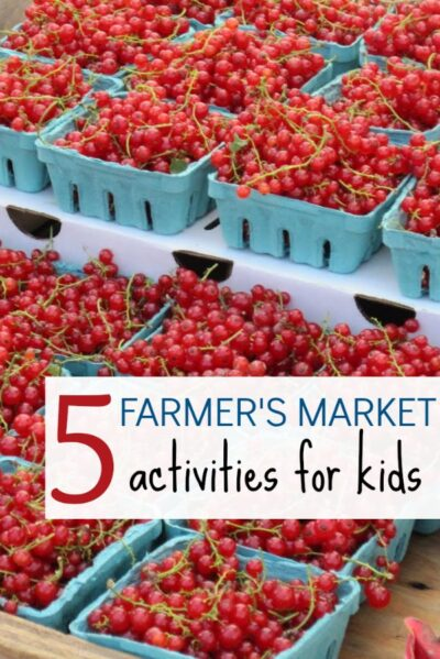 Fun and educational farmers market activities for kids