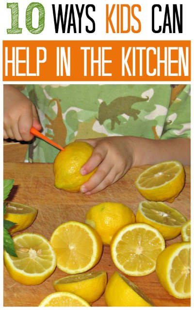 Simple ways kids can help in the kitchen