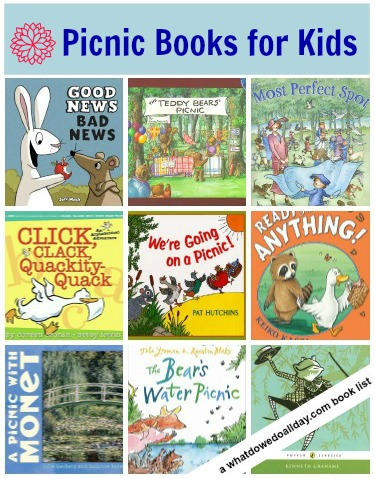 picnic books for kids