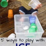 5 Ways to Play With Ice this Summer