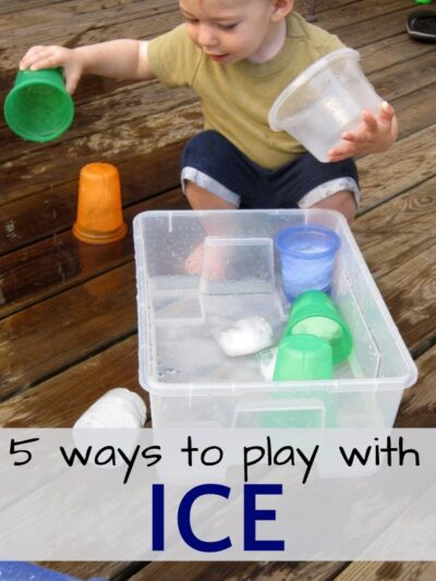 Play with ice and cool down this summer. Number 5 is fun!