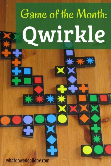 Qwirkle is a fun strategic family game