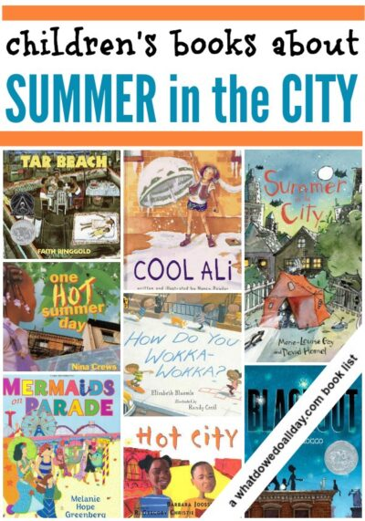 Children's books about summer in the city.