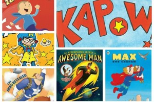 Superhero Picture and Chapter Books
