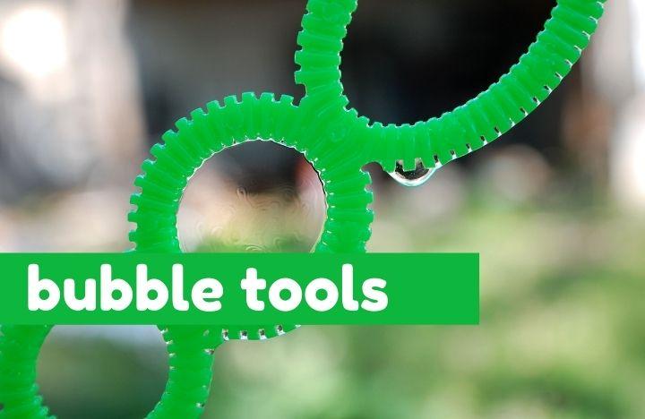 green double bubble wand