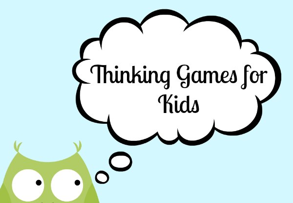 Thinking games for kids build brains!
