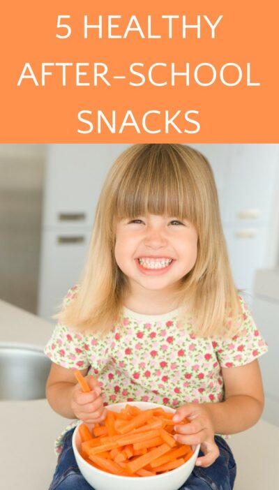 after school snack that is easy and healthy