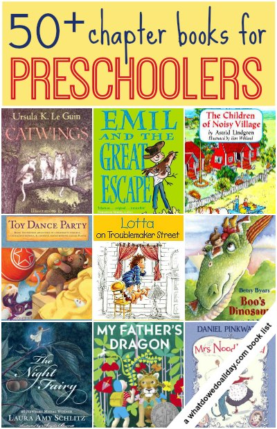 Chapter Books For Preschoolers And 3 Year Olds
