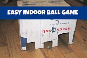 Easy Indoor Ball Game