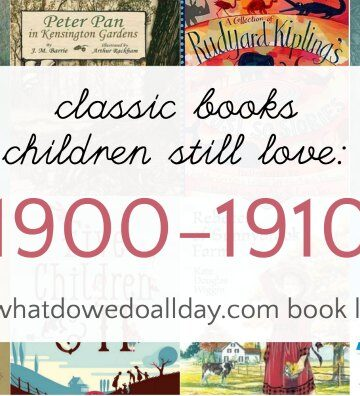 Classic 20th century children's books from 1900-1910
