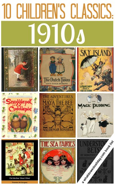 Classic childrens books from the 1910s