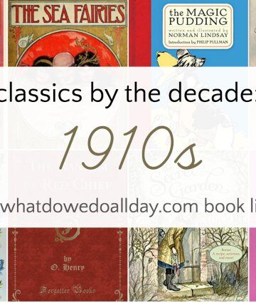 Classic children's books from 1911-1920
