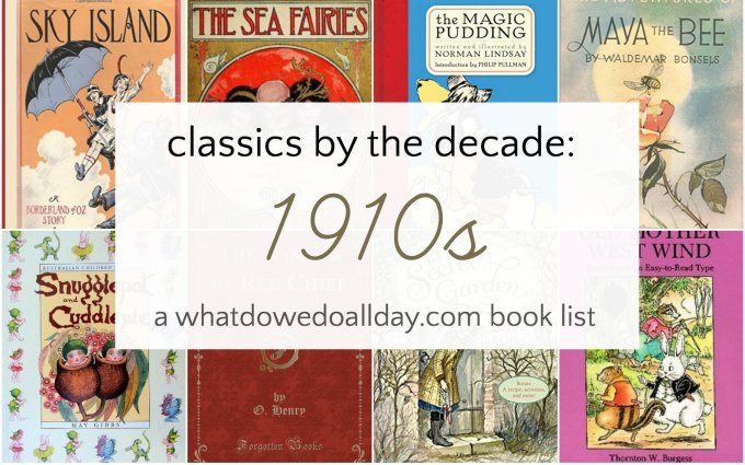 Classic children's books from 1911-1920