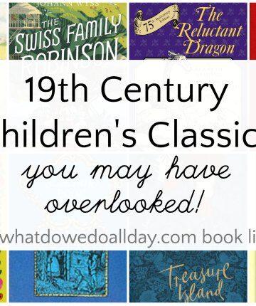 19th century children's classic books