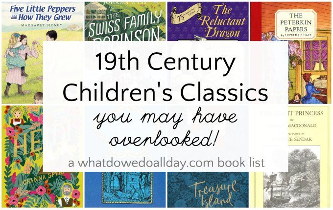 19th century children's classic books