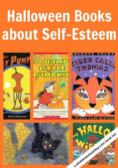 Picture books for Halloween that focus on Self-esteem