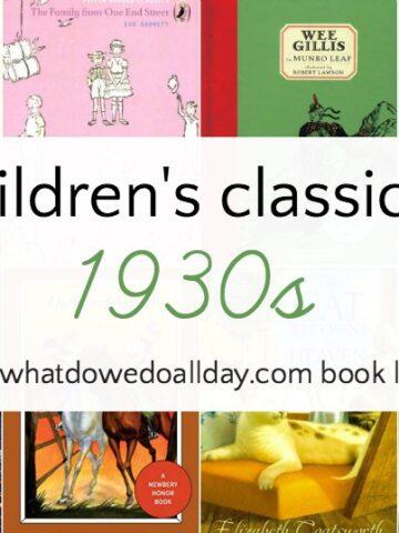 1930s classic books for children