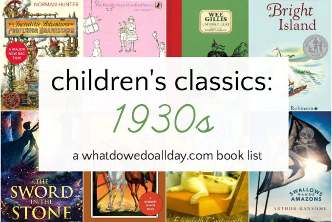 1930s classic books for children
