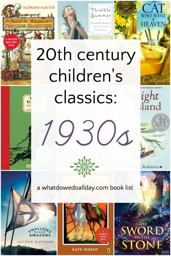 Classic 1930s children's books that you shouldn't forget! #childrensbooks #classicbooks