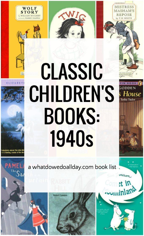 Classic 1940s children's books