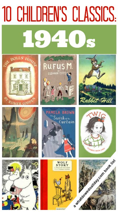 Classic children 39 s books from the 1940s for Classic house books