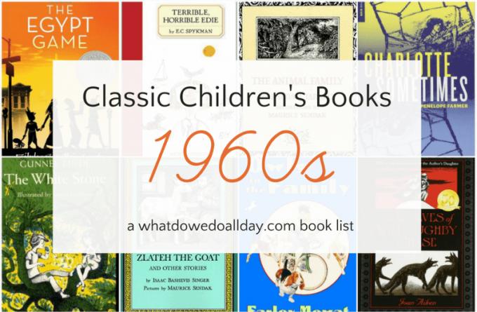 1960s children's classic books