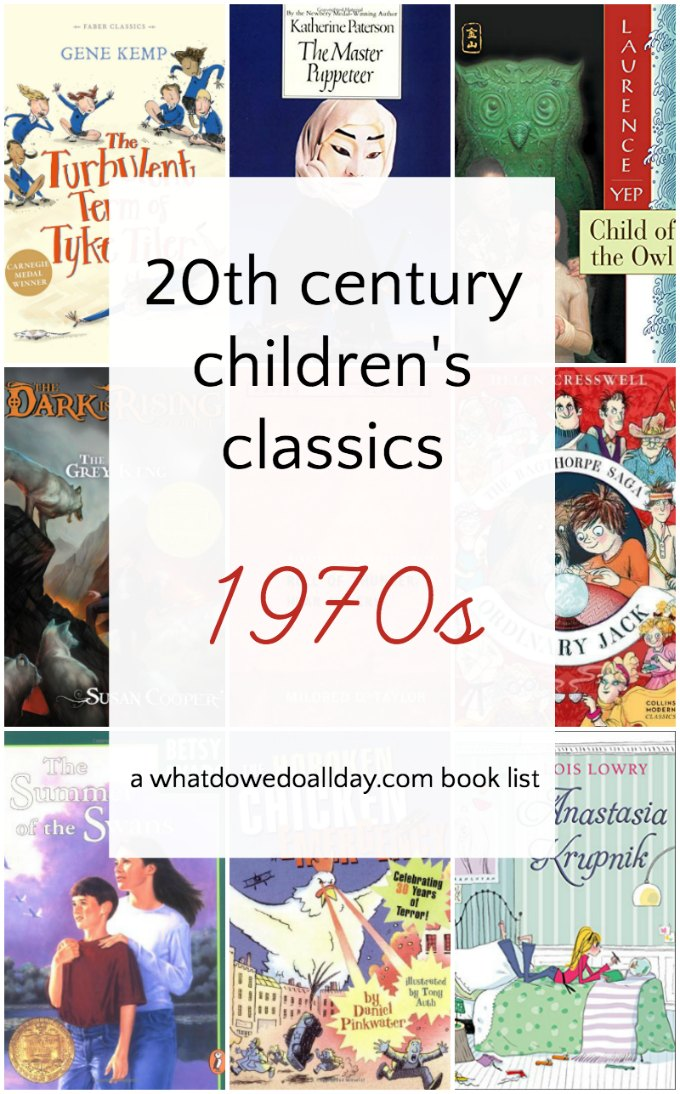 Children's books 1970s. Classic books you'll still want to read.