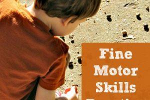 Fine Motor Skills Practice With Acorns