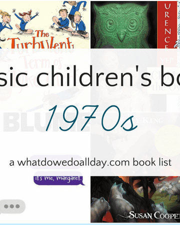 Classic children's books from the 1970s