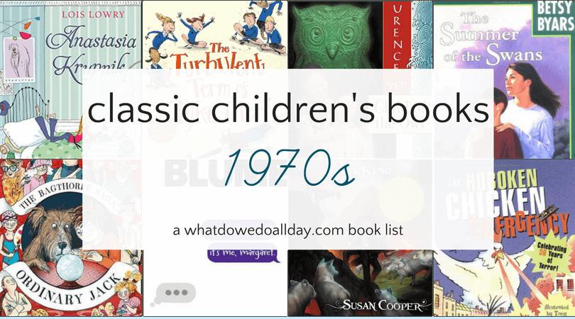1970s Children S Classics Best Under The Radar Books Of The Decade