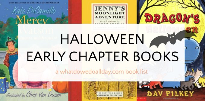 Early halloween chapter books for kids ages 5 and up