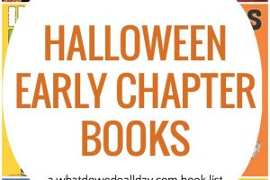 Halloween Early Chapter Books for Kids