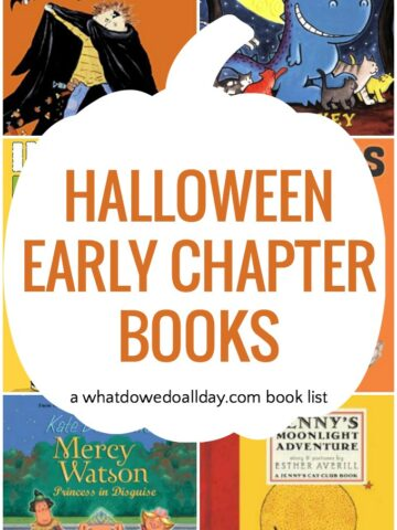 Halloween chapter books kids ages 5-10 will love!