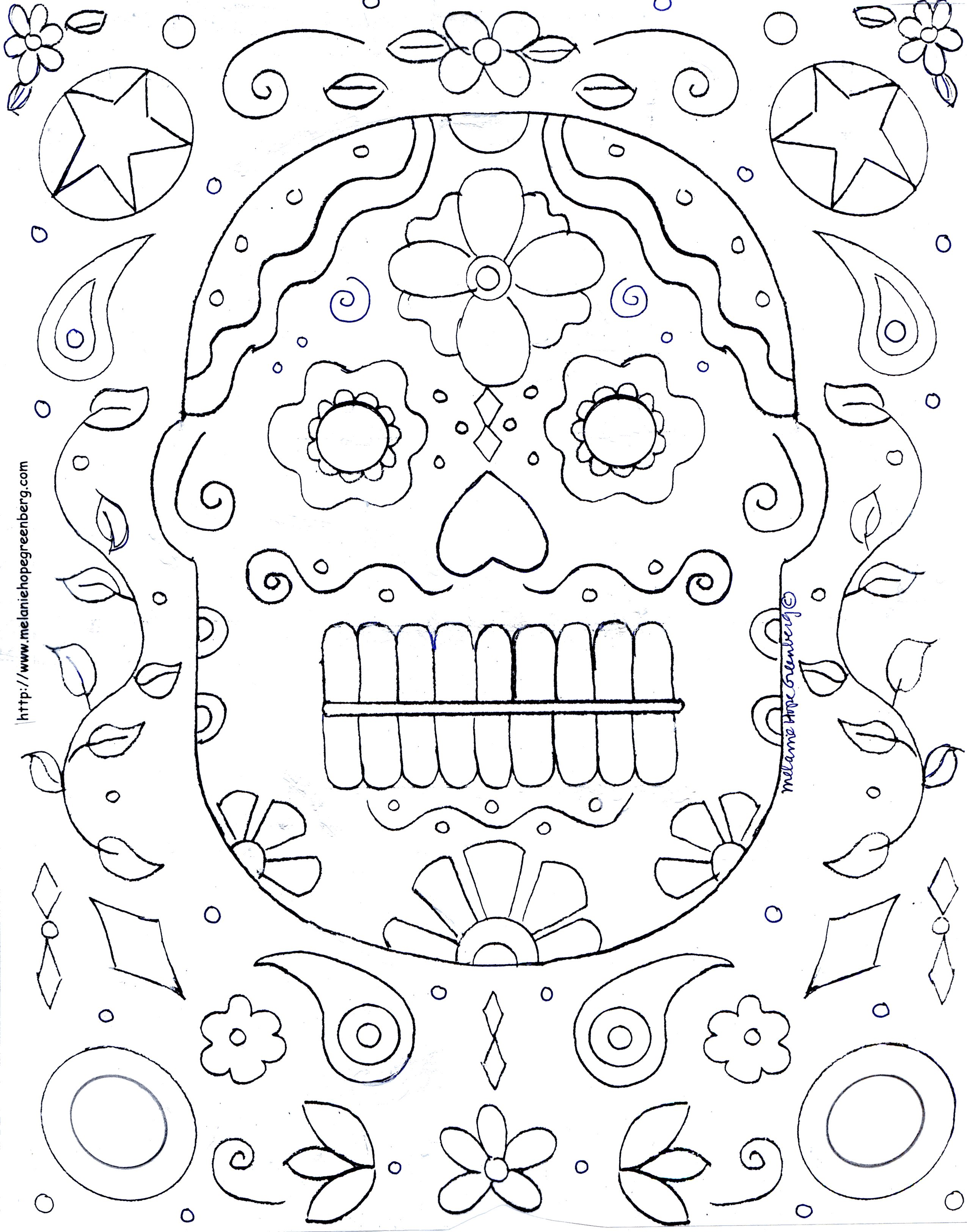 hard free halloween coloring pages - photo#7