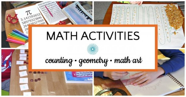 List of math activities for kids