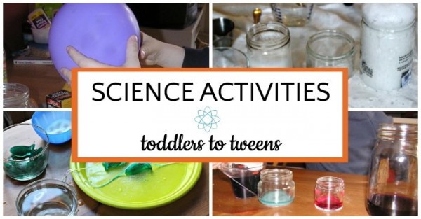 List of indoor science activities for kids