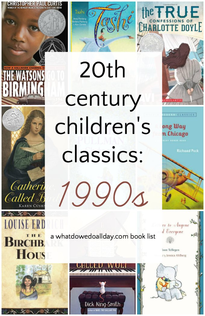 1990s children's books. These great kids books are considered modern classics! Be sure to click through to see the 10 best books of every decade in the 20th century.
