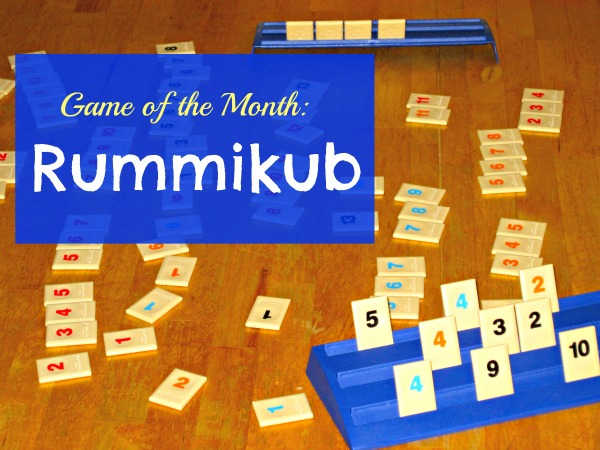Rummikub game for kids