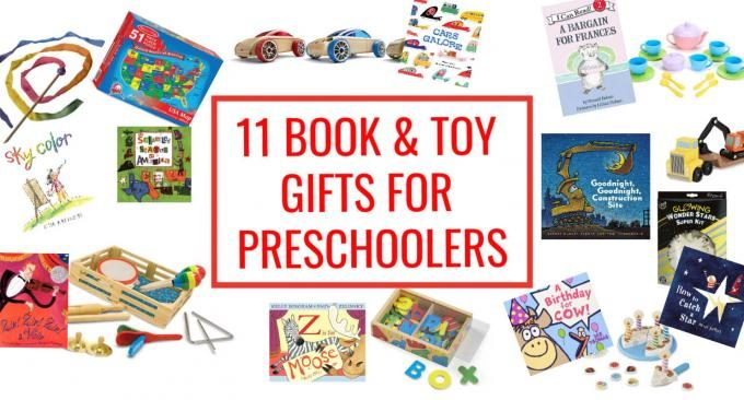 Best book and toy gifts for preschoolers