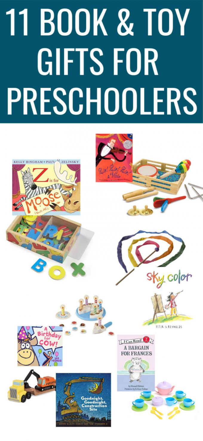 The best gifts for preschoolers are these great book and toy combinations. These excellent picture books will spark your child's imagination and the toy will set them on the path towards some wonderful pretend play. Click through to see all the great options on this gift guide for kids.