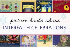 Interfaith picture books for the holidays about celebrating Christmas and Hanukkah.