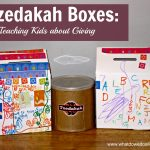 Teaching Kids About Giving: Tzedakah Boxes For Kids