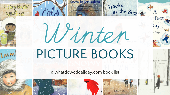 Diverse winter picture books for kids