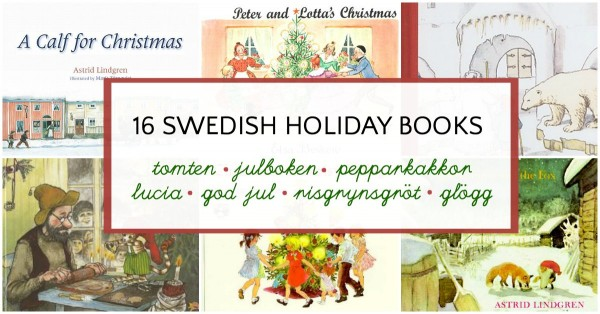 Swedish picture books for the holidays