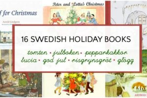 Swedish holiday themed picture books for children